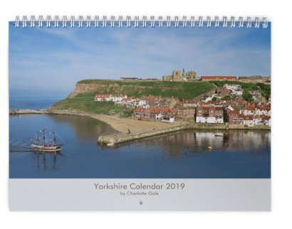 Yorkshire Wall Calendar by Charlotte Gale
