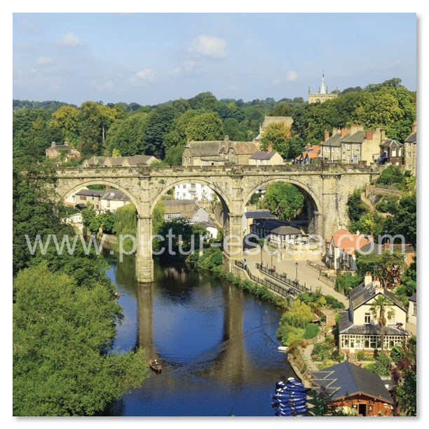 Knaresborough Viaduct by Charlotte Gale