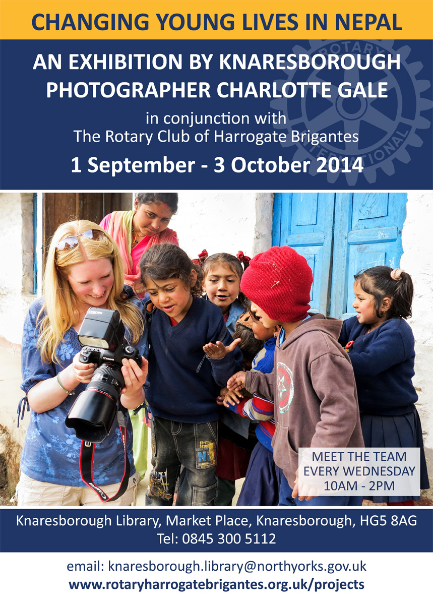 An Exhibition by Knaresborough Photographer Charlotte Gale