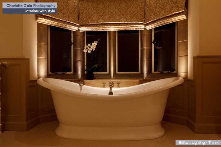 Photograph of a luxury bath
