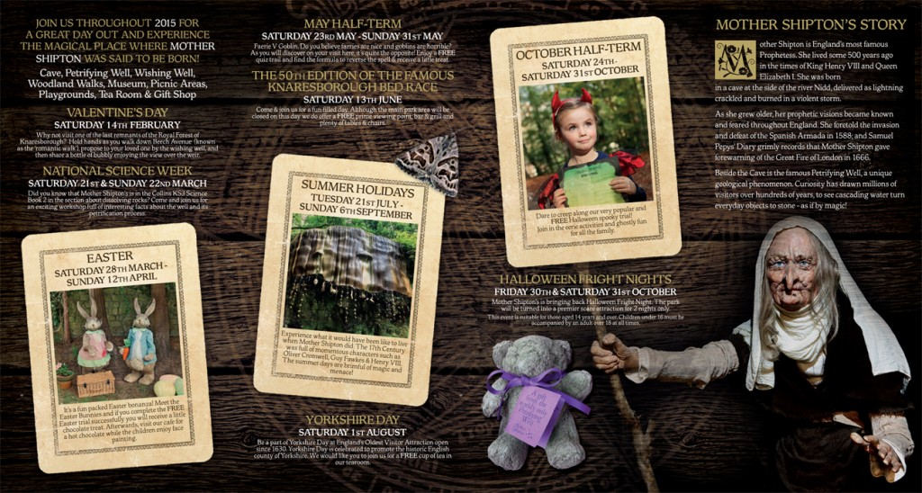 Mother Shipton's Cave 2015 Brochure