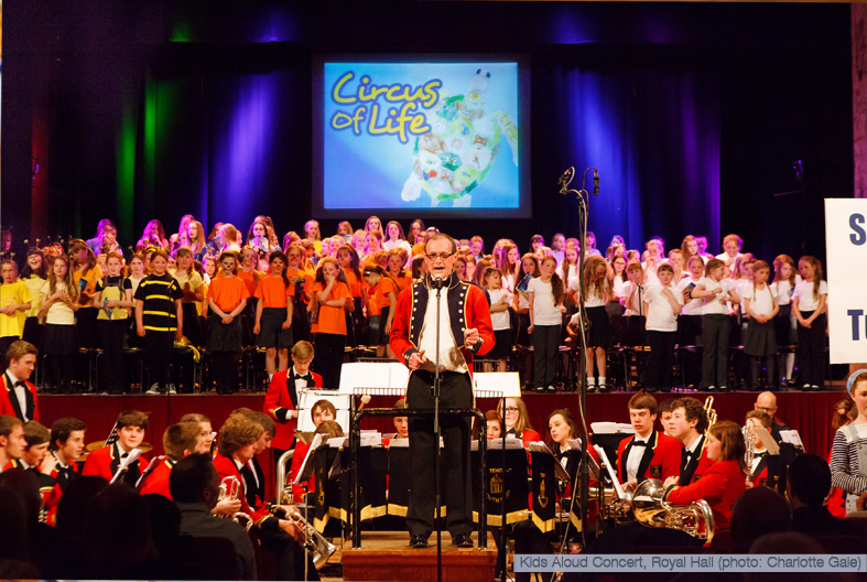 Kids Aloud Concert in aid of Nepal