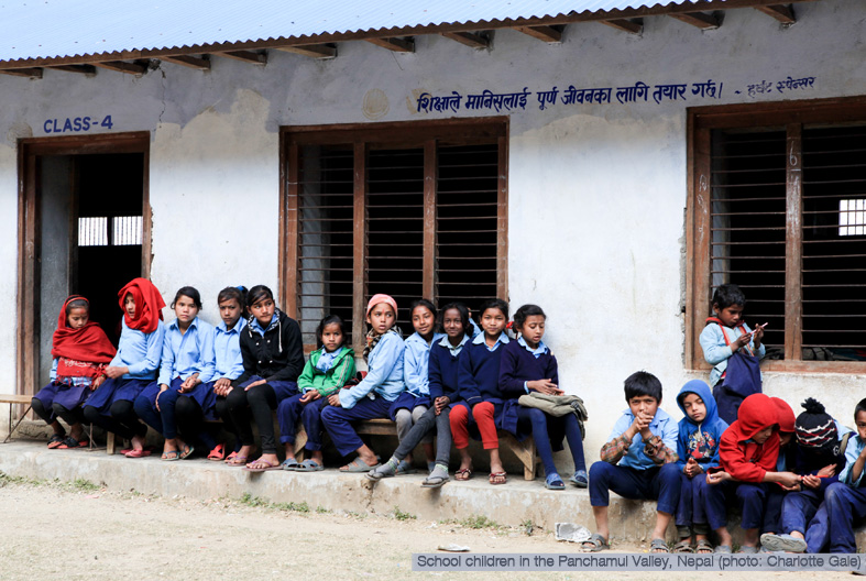 School Children in Nepal