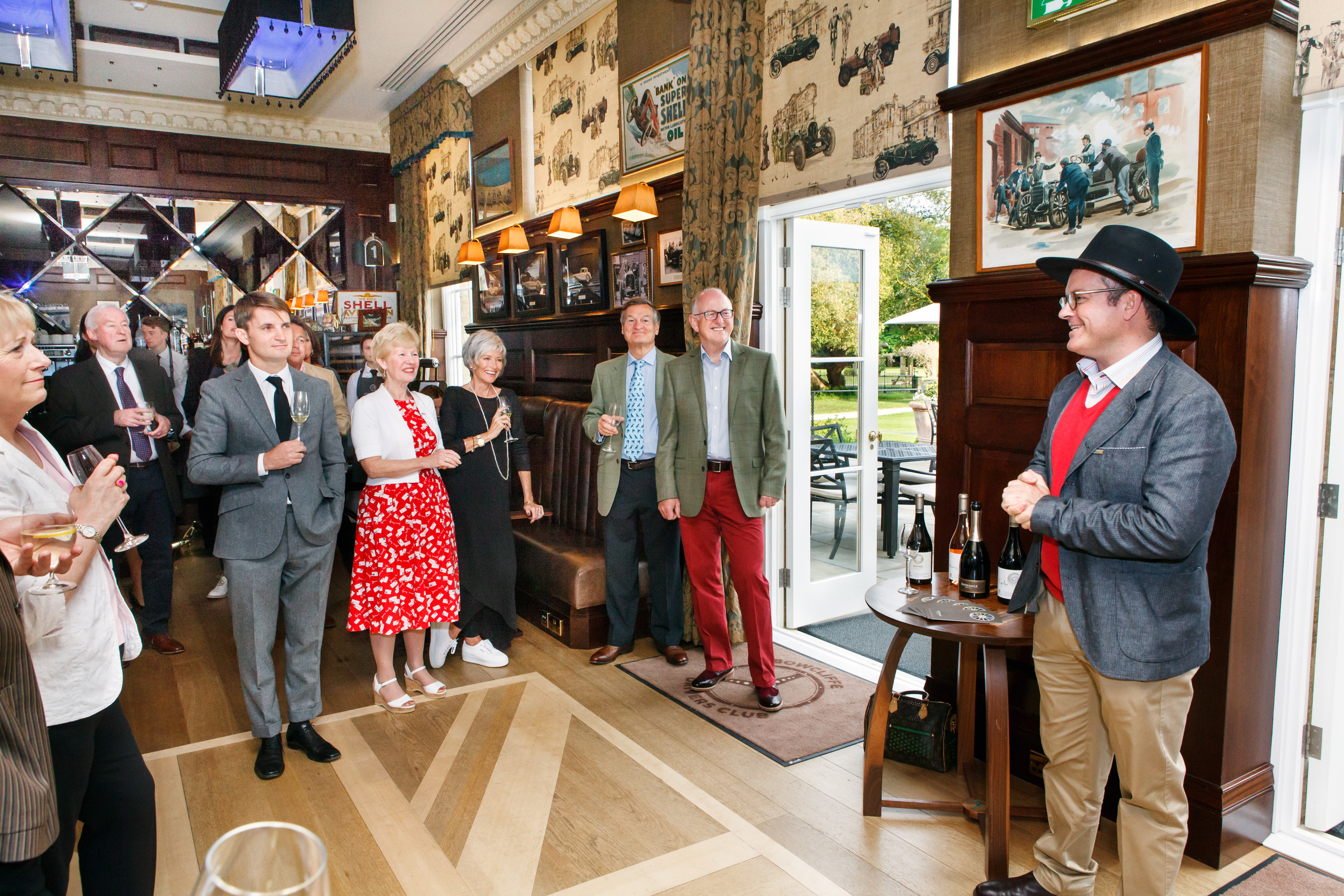 Bowcliffe Hall Avondale Wine Evening by Corporate Event Photographer Charlotte Gale