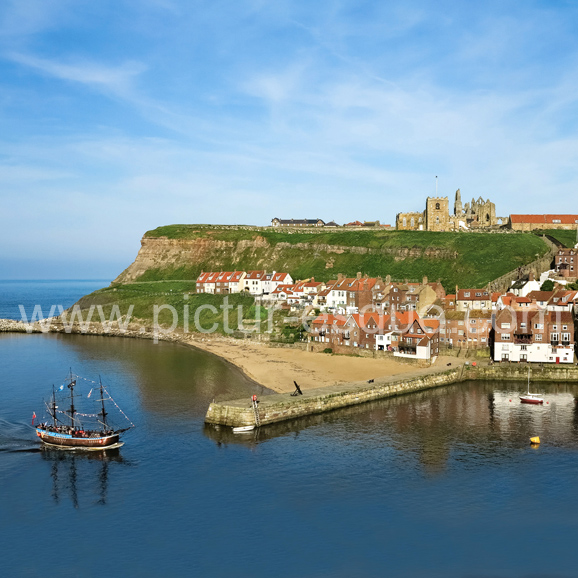 Replica Endeavour Whitby