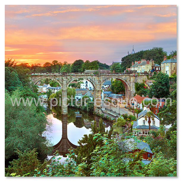 Knaresborough Viaduct Sunset