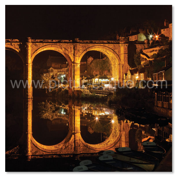 Knaresborough Viaduct at Night