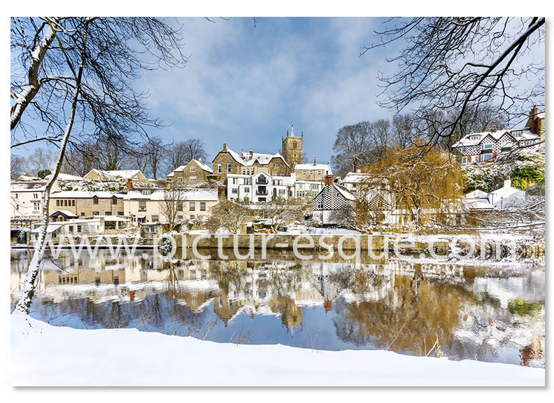 Knaresborough Christmas Card by Charlotte Gale
